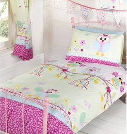 Kidz Toddler Duvet Cover Owls