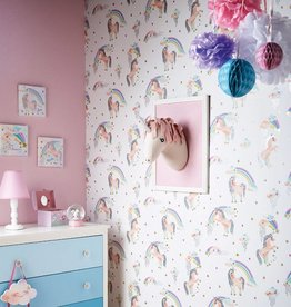 Arthouse Rainbow Unicorn Wallpaper