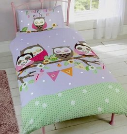 Kidz Duvet Cover Goodnight Owl