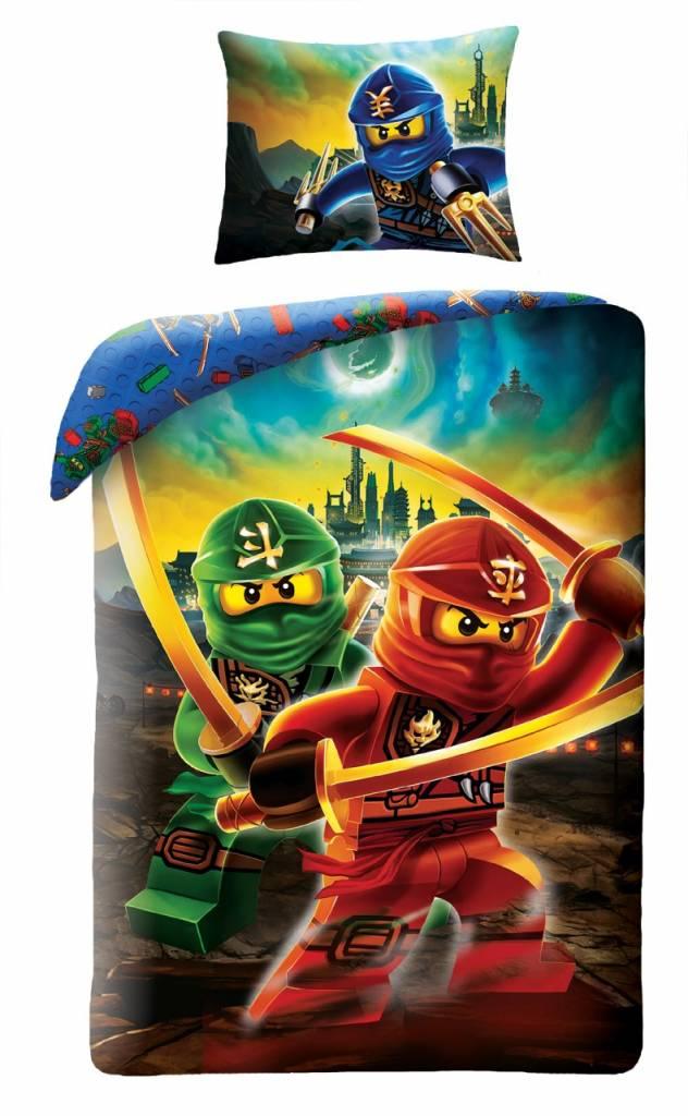Lego Ninjago Duvet Cover Kai & Lloyd