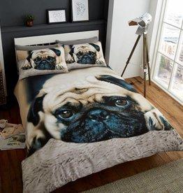 Sweet Pug Mopshond Dekbedovertrek