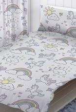 CharactersMania Eenhoorn Unicorn Junior Dekbedovertrek Pastel