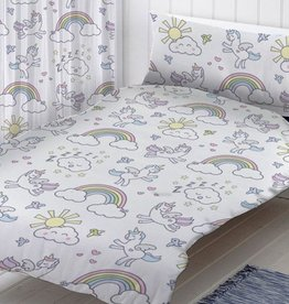 Blije Kidz Unicorn Junior Duvet Cover Pastel