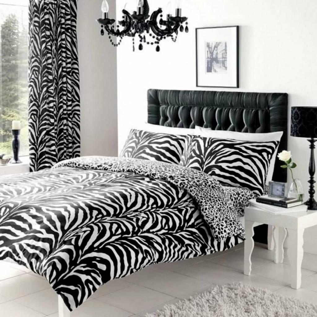 Gavano Cavailia Zebraprint Double Duvet Cover