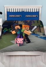Minecraft Minecraft Tweepersoons Dekbedovertrek