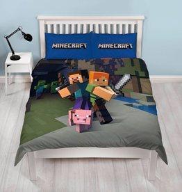 Minecraft Minecraft Tweepersoons Dekbedovertrek 200x200