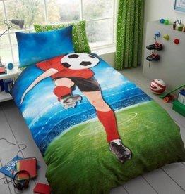 Voetbal Dekbedovertrek Voetballer