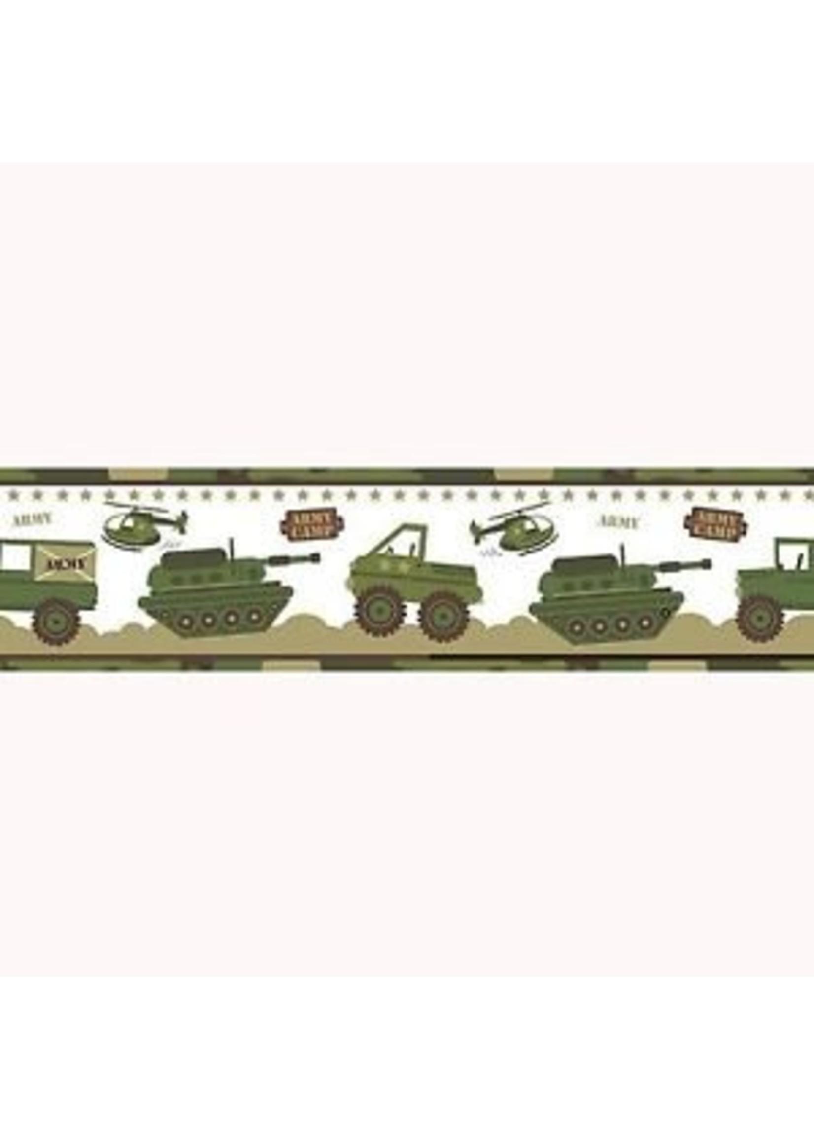 Camouflage Legerkamp Behang