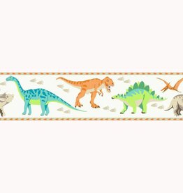 CharactersMania Dinosaurus Behang Border