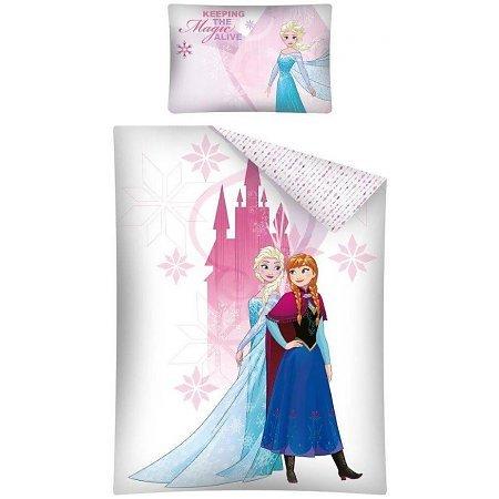 Disney Frozen Frozen Junior Dekbedovertrek Frozen Junior Dekbedovertrek Roze