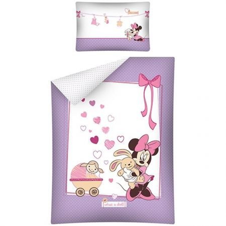 Disney Minnie Mouse  Junior Dekbedovertrek Doll