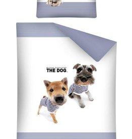 Honden Junior Dekbedovertrek Blauw