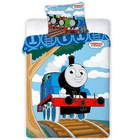 Thomas de Trein Fisher Price Thomas Junior Dekbedovertrek Friends