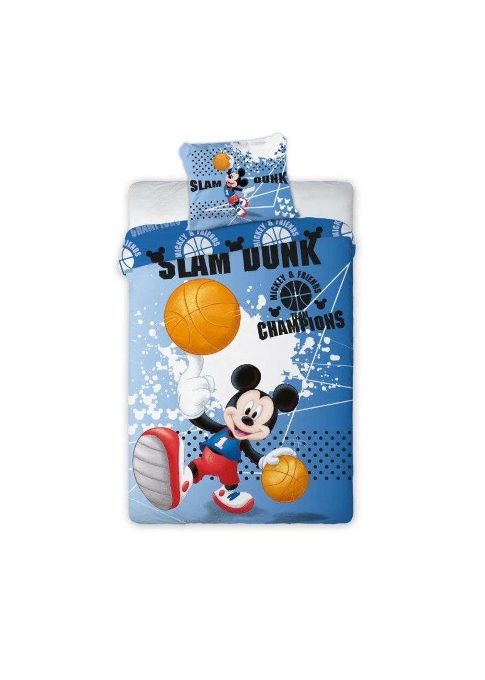 Disney Mickey Mouse Dekbedovertrek Slam Dunk