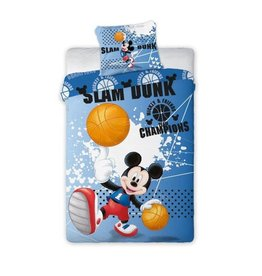 Disney Mickey Mouse Dekbedovertrek Slam Dunk