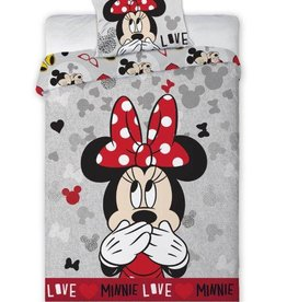 Disney Minnie Mouse Dekbedovertrek Love