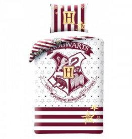 Harry Potter Dekbedovertrek Hogward Katoen