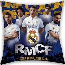 Real Madrid Real Madrid Cushion Blue