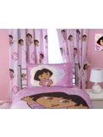 Nickelodeon Dora Gordijnset Adorable Bloem