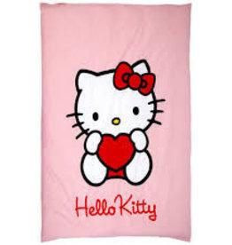 Hello Kitty Dekbedovertrek Hartjes