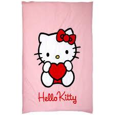 Sanrio  Hello Kitty Dekbedovertrek Hartjes