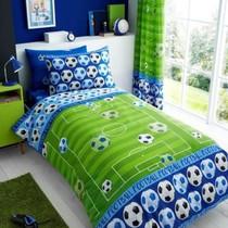 T&A Footbal Goal Duvet Cover Blue