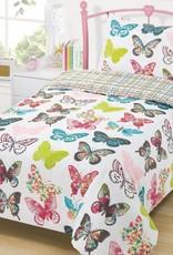 CharactersMania Pretty Butterflies Duvet Cover