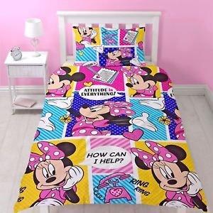 Disney Minnie Mouse Dekbedovertrek Attitude
