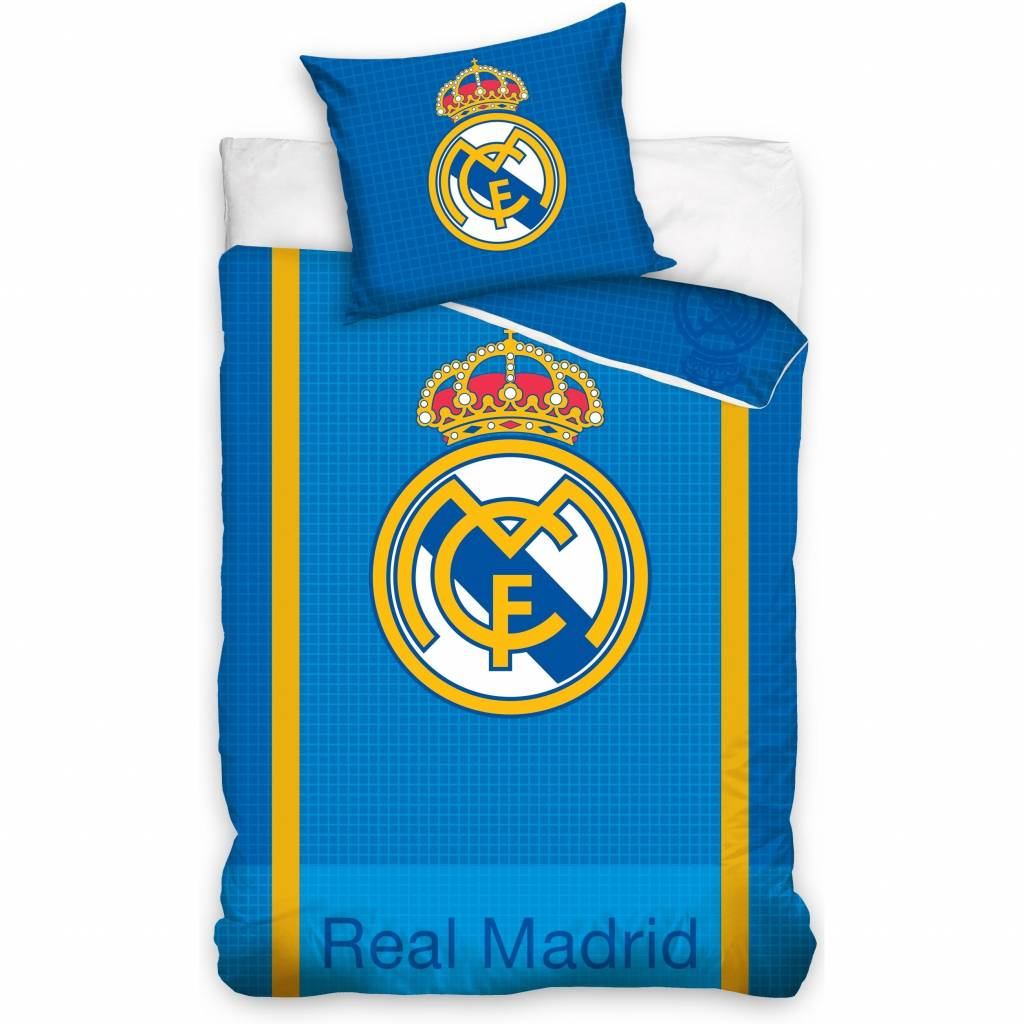 Real Madrid Real Madrid Duvet Cover Blocks