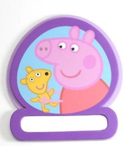 Peppa Pig Peppa Pig Naambordje Deur