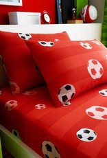 CharactersMania Voetbal  Bedsheet & Pillowcase