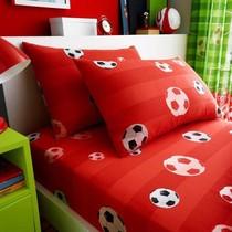 Catharine Lansfield ootbal Duvet Cover Red