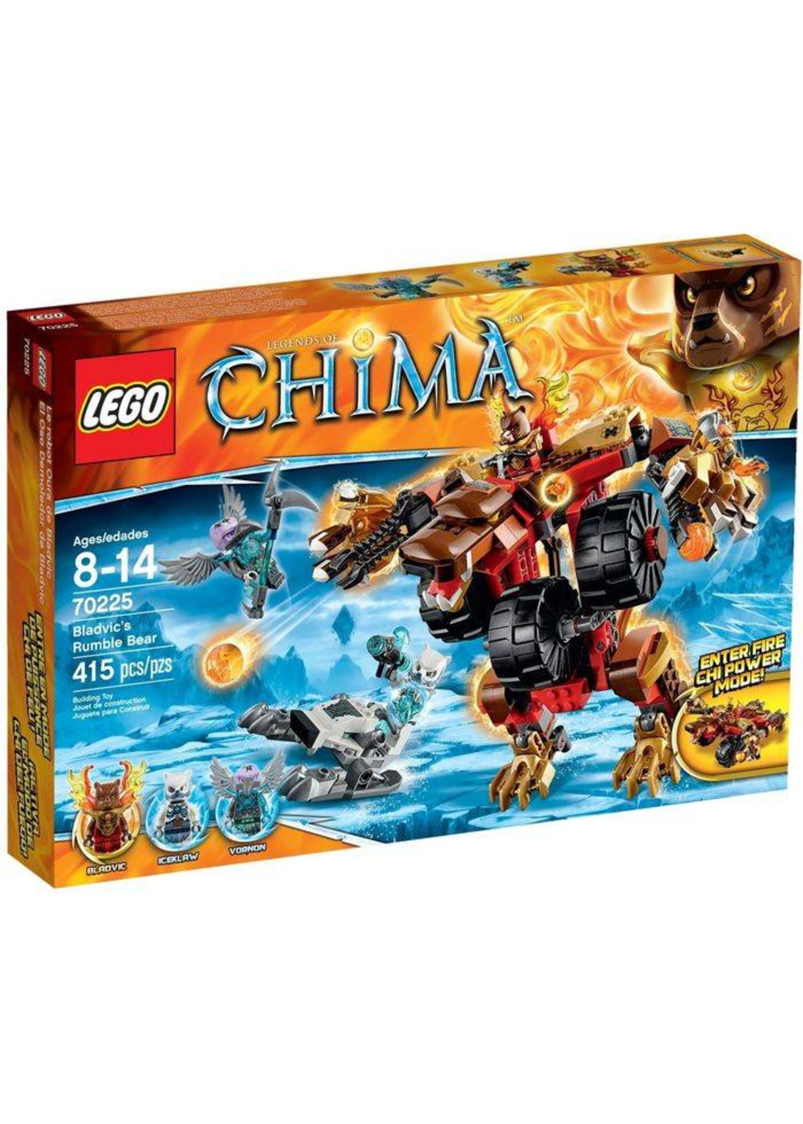 Lego Lego 70225 Chima Bladvic's Rumble Bear