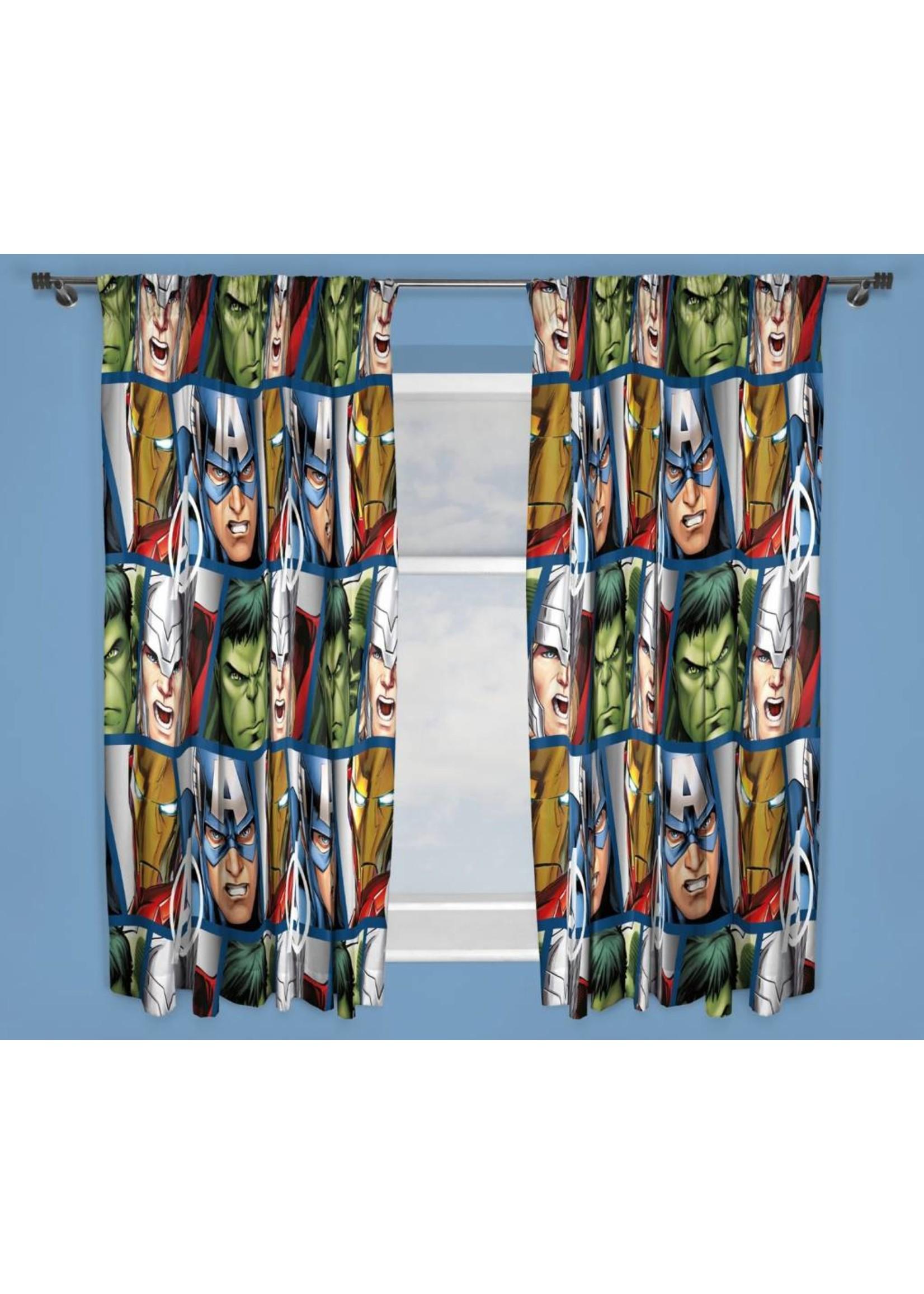 Marvel Marvel Avengers Gordijnset