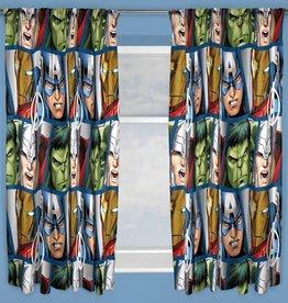 Marvel Avengers Gordijnset