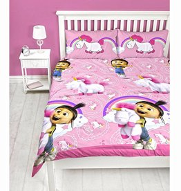 Minions Despicable Me Duvet Cover Fluffy Unicorn