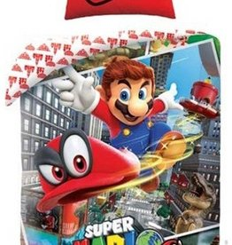 Nintendo Super Mario Dekbedovertrek Odyssey 135x200