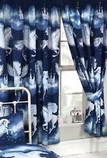 CharactersMania Unicorn Gordijnen Stardust Blauw