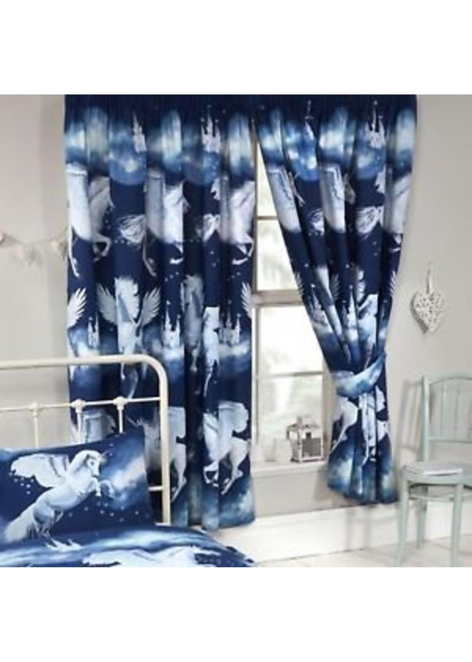 Unicorn Gordijnen Stardust Blauw