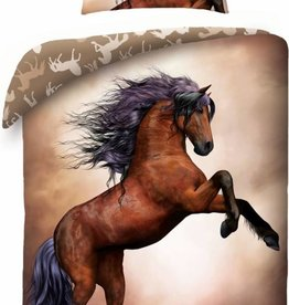 Animal Pictures Horse Duvet Cover Set Wild