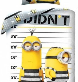 Minions Minions Despicable Me 3 Dekbedovertrek Jailbirds