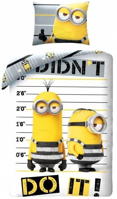 Minions Minions Despicable Me 3 Dekbedovertrek Jailbirds