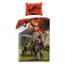 Jurassic World Dekbedovertrek Vulkaan