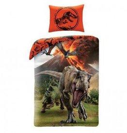 Jurassic World Dekbedovertrek Vulkaan Dinosaurus