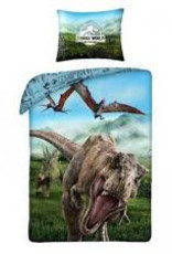 Jurassic World Dekbedovertrek Dinosaurus T-Rex