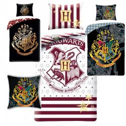 Warner Bros Harry Potter Dekbedovertrek Hogwarts Zwart