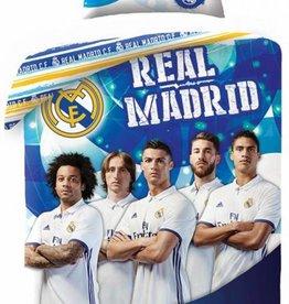 Real Madrid Real Madrid Dekbedovertrek - Eenpersoons - 140 x 200 cm -