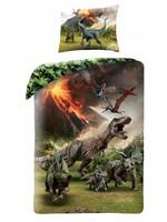 Jurassic Worlds Dekbedovertrek Dinosaurus Volcano