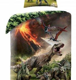 Jurassic Worlds Dekbedovertrek Dinosaurus