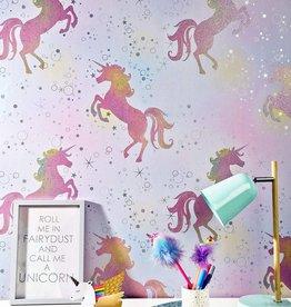 CharactersMania Magische Eenhoorn Unicorn Behang